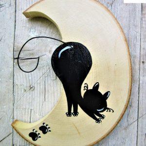 luna-in-legno-gatto-che si-stiracchia-retro
