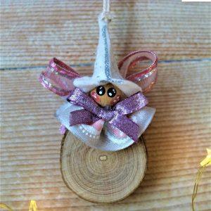 folletto-natalizio-tondino-legno-rosa