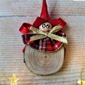 folletto-natalizio-tondino-legno-rosso
