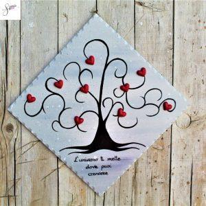targhetta-legno-dipinta-a-mano-albero-della-vita-grigio-cuori-rossi-ceramica-25x25cm