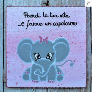 targhetta-legno-bomboniera-battesimo-elefantino-rosa