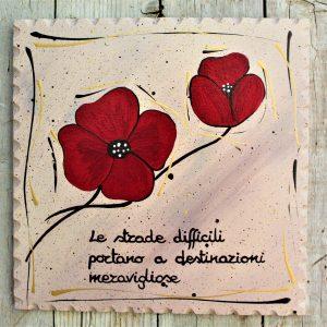 targhetta-legno-dipinta-a-mano-papavero-rosso-20x20cm
