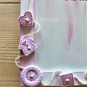 portafoto-legno-festa-della-mamma-16x21cm-rosa-dettaglio